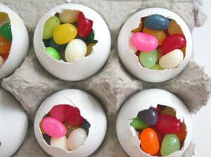Oeufs Jelly beans