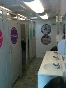 Toilettes Cascades