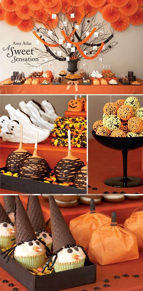 Bar bonbons Halloween
