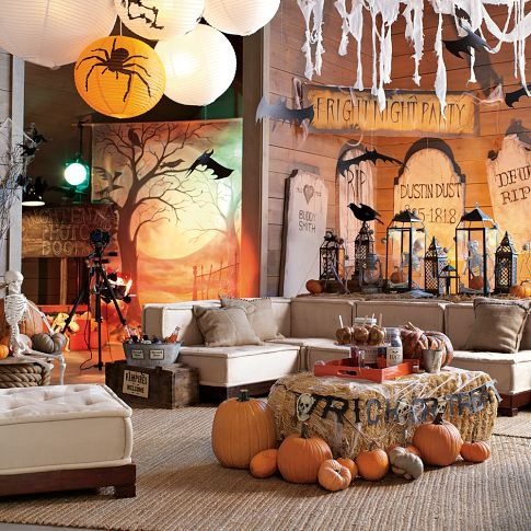 chambre Halloween