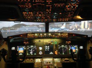 13 - Simulateur de vol