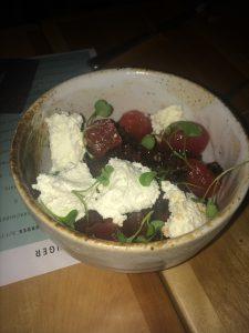 Mimi Salade tomates, melon et ricotta