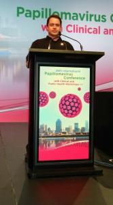 Affichage podium
